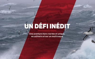 Un nouveau défi pour Yvan : réussir le 1er Tour du Monde en solitaire contre les vents, en multicoque