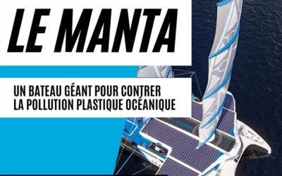 Découvrez le nouveau Manta de The Seacleaners