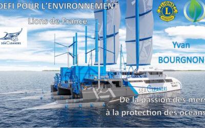 Conférence le 17 mai à 18h30 « Défi pour l'environnement »