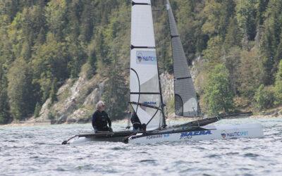 🏆 Championnat Suisse de NacraF20. 2 ème titre pour Yvan et Mathis !